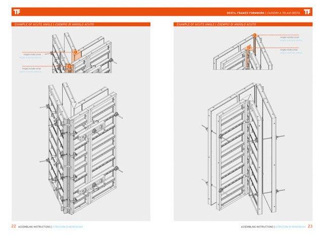 Destil Wall Formwork 80kn | Farina Formworks
