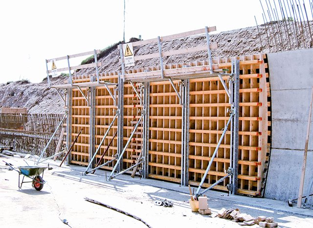 Italy Modena Tunnel Formworks   Farina Formworks